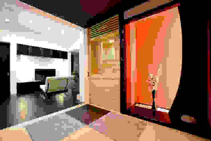 和室 モダンデザインの 多目的室 の Style Create モダン コンクリート