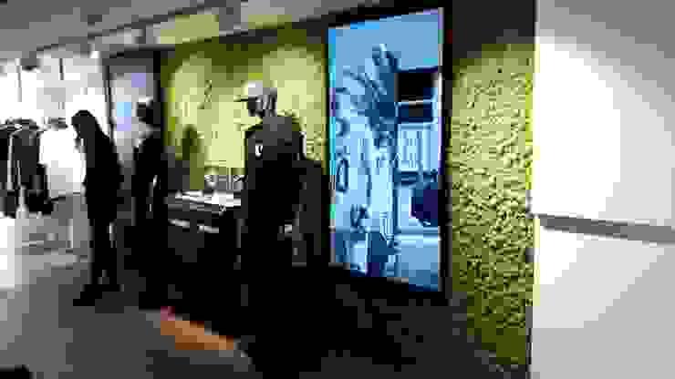 Moswand bij balr Amsterdam Landelijke kantoor- & winkelruimten van Degroenewand.nl Landelijk