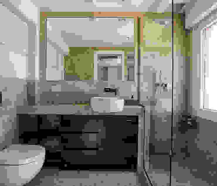 lavorazioni in marmo architetto letizia masciotta Bagno minimalista