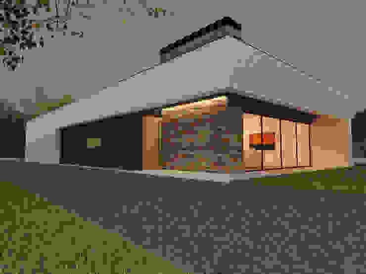 Moradia Unifamiliar | SJ | Viseu Casas modernas por Pedro Palma Arquiteto Moderno