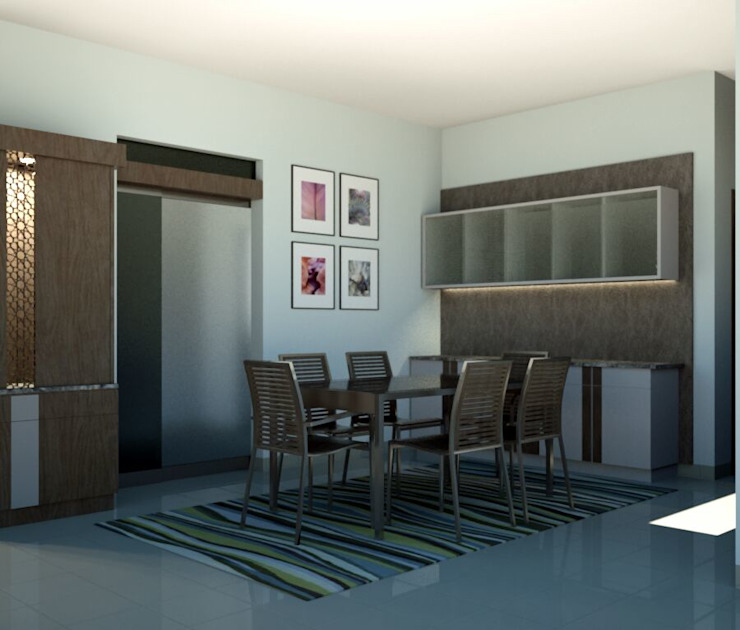 Project BLUCAP LLP Modern dining room