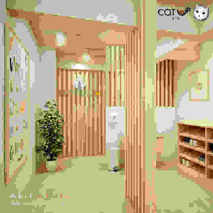 ห้องฆ่าเชื้อ ... พื้นที่สำหรับทำความสะอาด โดย Abilmente Co.,Ltd มินิมัล