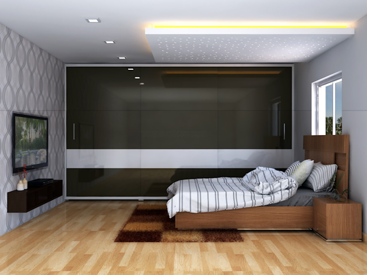 Master Bedroom by Antar - A Firm of Interior Designers