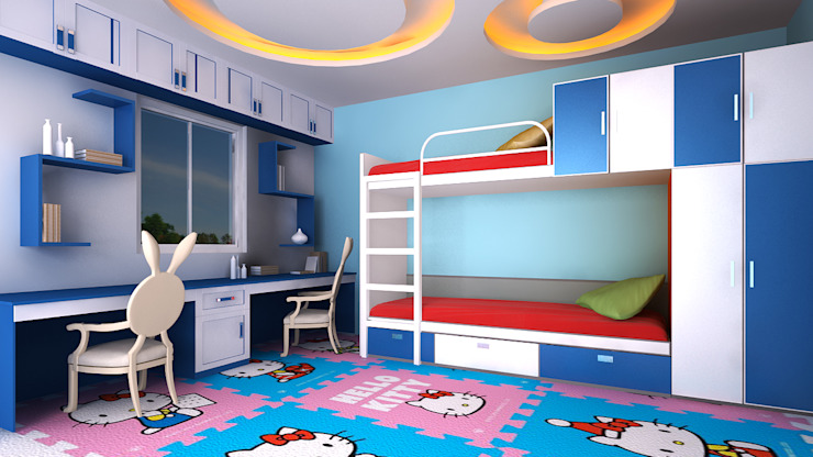 Kids Bedroom by Antar - A Firm of Interior Designers