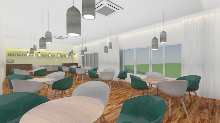 Cafeteria by Antar - A Firm of Interior Designers