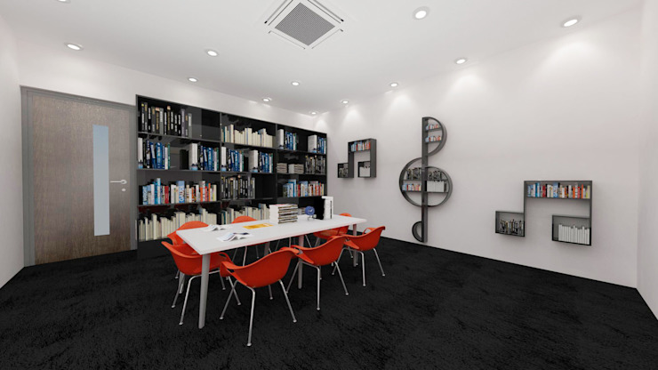 Music library by Antar - A Firm of Interior Designers