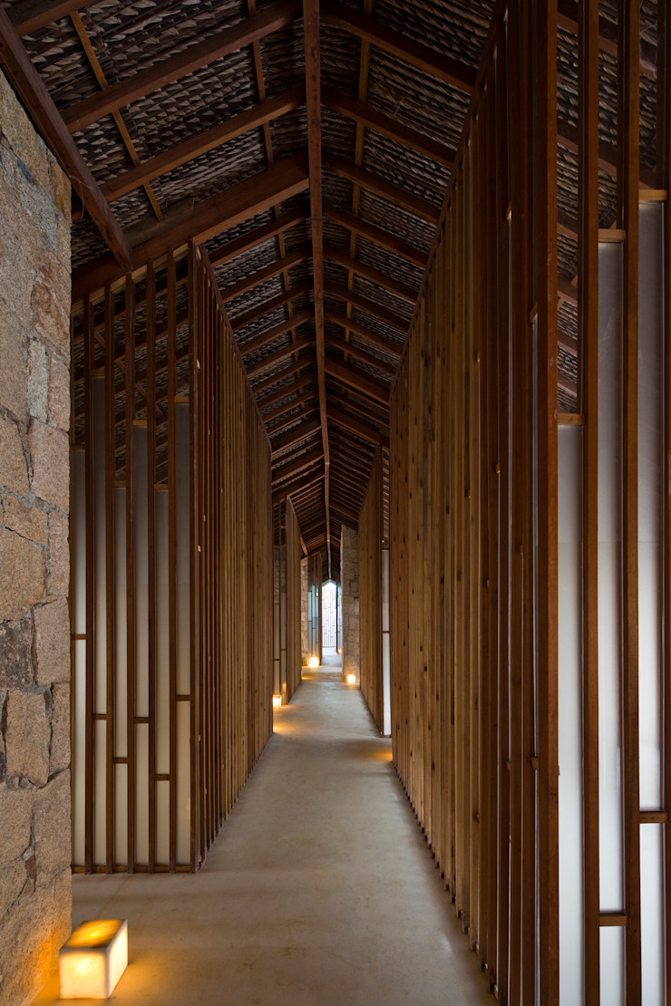 i-resort Hành lang, sảnh & cầu thang phong cách hiện đại bởi a21studĩo Hiện đại