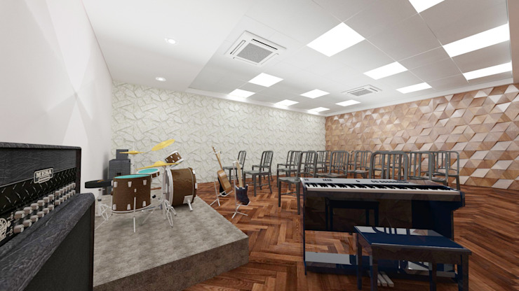Rehearsal Room by Antar - A Firm of Interior Designers