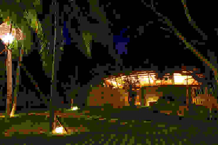 i-resort Hiên, sân thượng phong cách hiện đại bởi a21studĩo Hiện đại