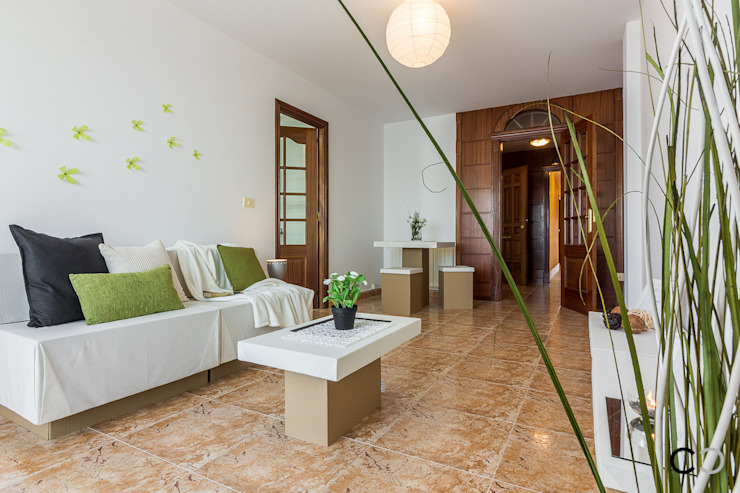 SALÓN Salas de estilo moderno de CCVO Design and Staging Moderno