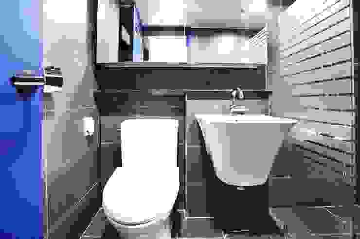 GM 하이빌 모던스타일 욕실 by JUNDESIGN 모던