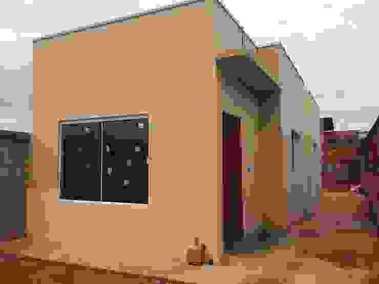 Guedes e Menezes Arquitetura + Engenharia Casas de estilo moderno