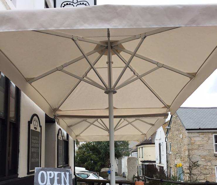Umbrellas by Aztec Umbrella Systems Ltd Mediterranean Metal