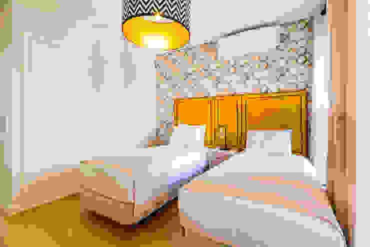 Bairro Alto - Apartamento T2 Quartos escandinavos por Sizz Design Escandinavo