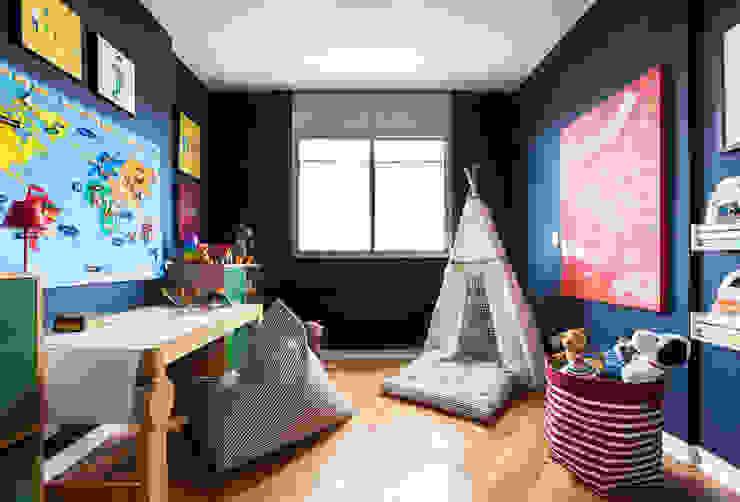Brinquedoteca Pereira Reade Interiores Quartos dos meninos