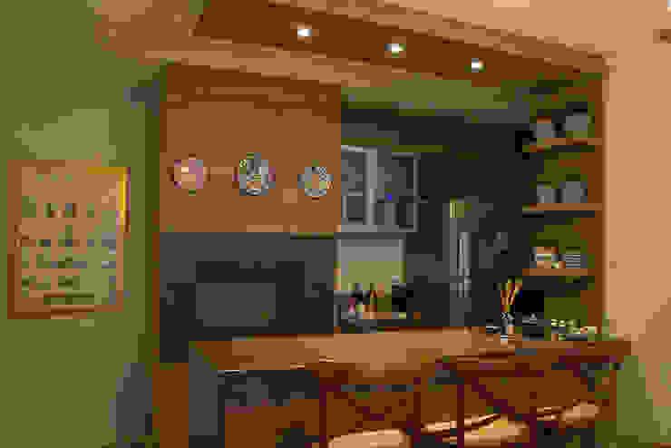 Apartamento Condado de Homelland – Gramado por Luiza Goulart Arquiteta Campestre MDF