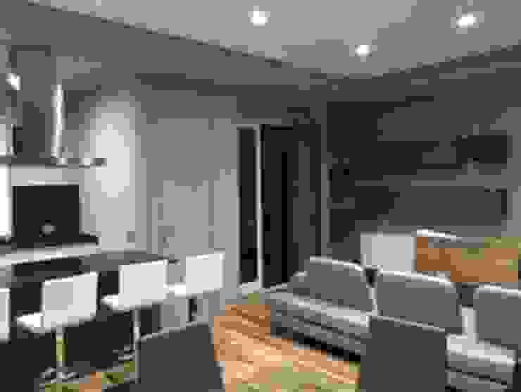 antonio giordano architetto Minimalist dining room