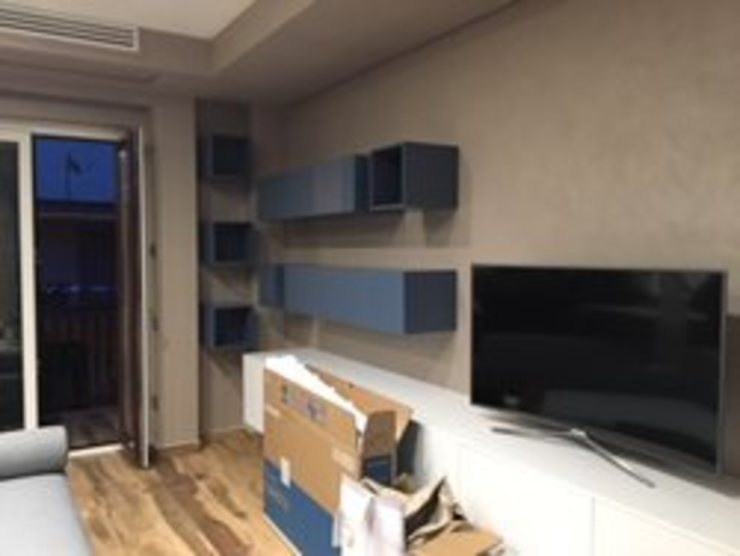 antonio giordano architetto Minimalist living room