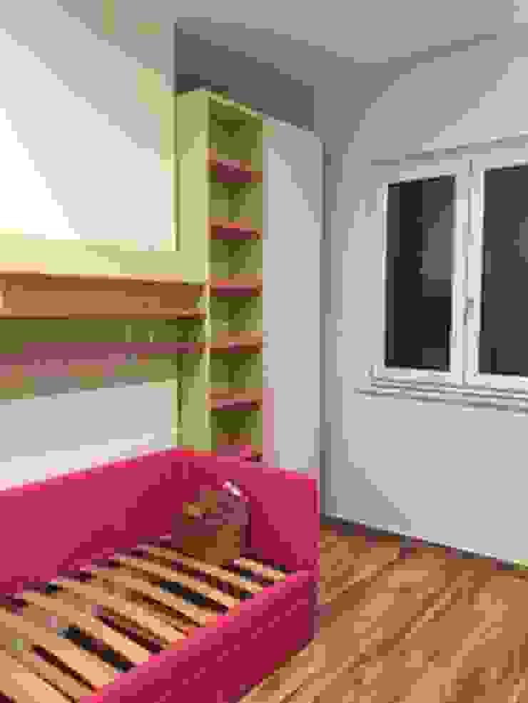 antonio giordano architetto Minimalist bedroom