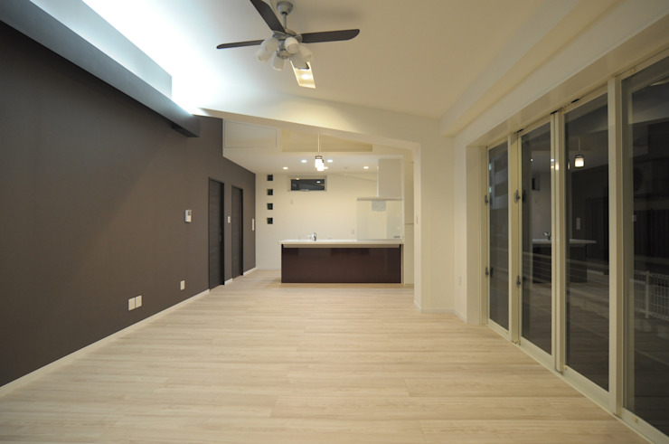 hacototo design room Modern Living Room Brown