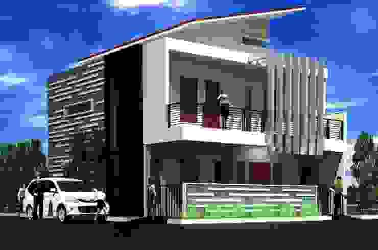 Rumah Langsing Rumah Minimalis Oleh Elevenstudios Minimalis Beton Bertulang