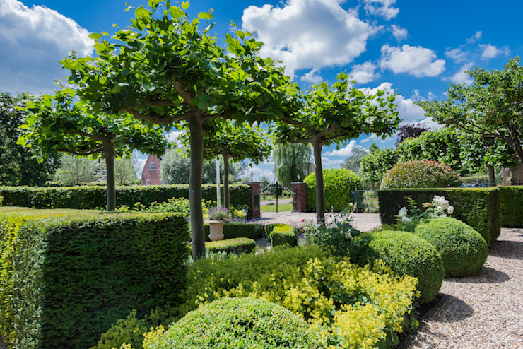 Country style gardens by Groengroep b.v. Country