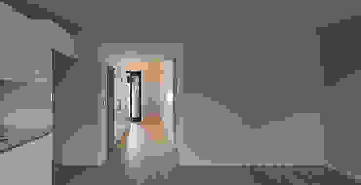 세곡동 3가구 주택 모던스타일 미디어 룸 by 틔움건축 모던