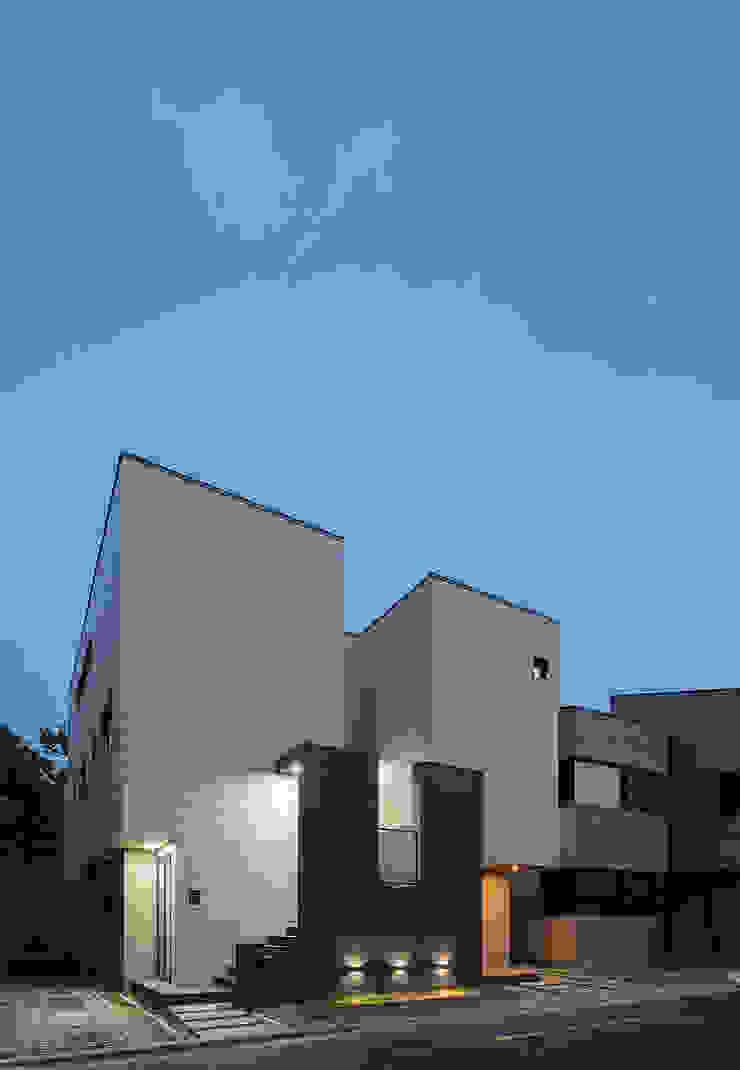 세곡동 3가구 주택 모던스타일 주택 by 틔움건축 모던