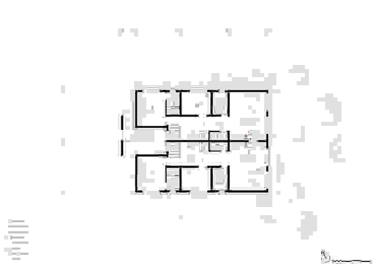 세곡동 3가구 주택: 틔움건축의 현대 ,모던
