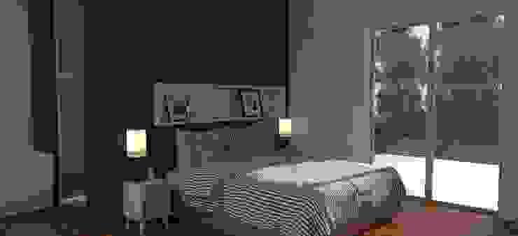 Спальня в стиле модерн от IMAGENES MR Модерн