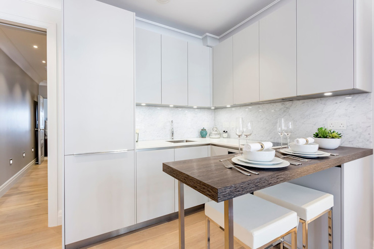 Kitchen Modern Kitchen by GK Architects Ltd Modern