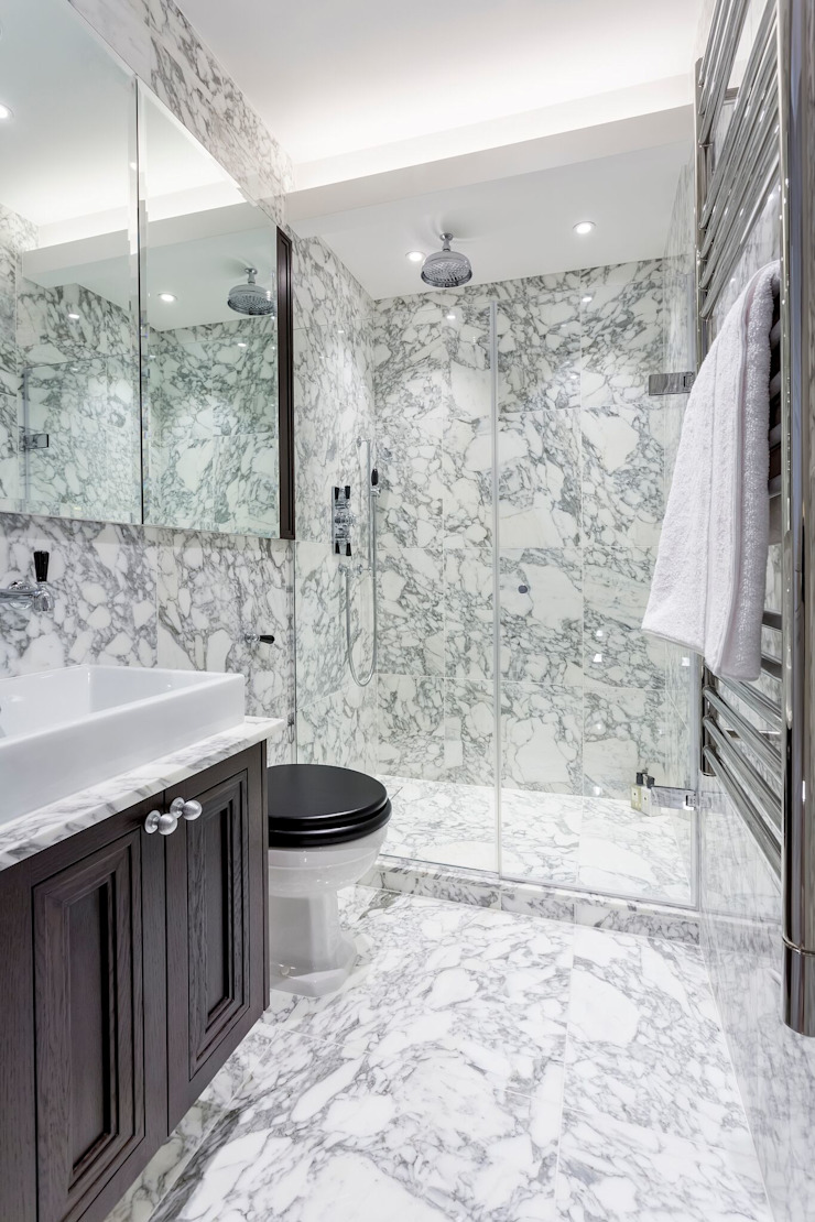 Bathroom Modern Bathroom by GK Architects Ltd Modern