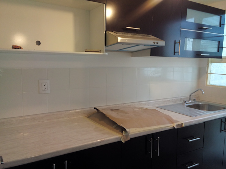 Fixing Built-in kitchens Engineered Wood Multicolored