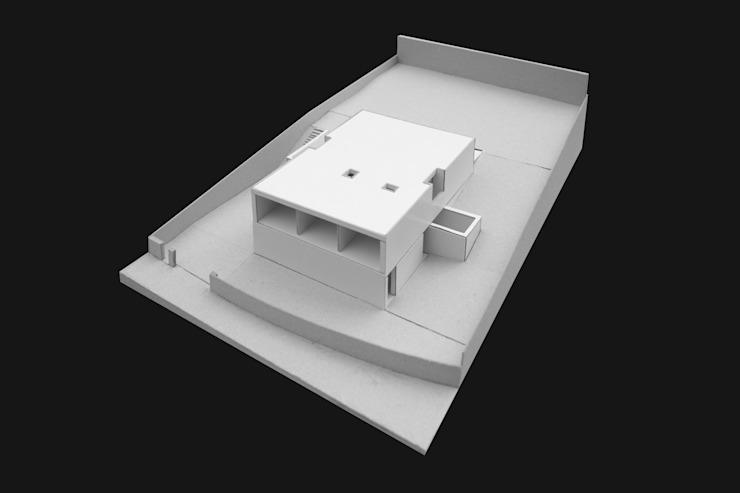 Maisons minimalistes par Raulino Silva Arquitecto Unip. Lda Minimaliste Béton