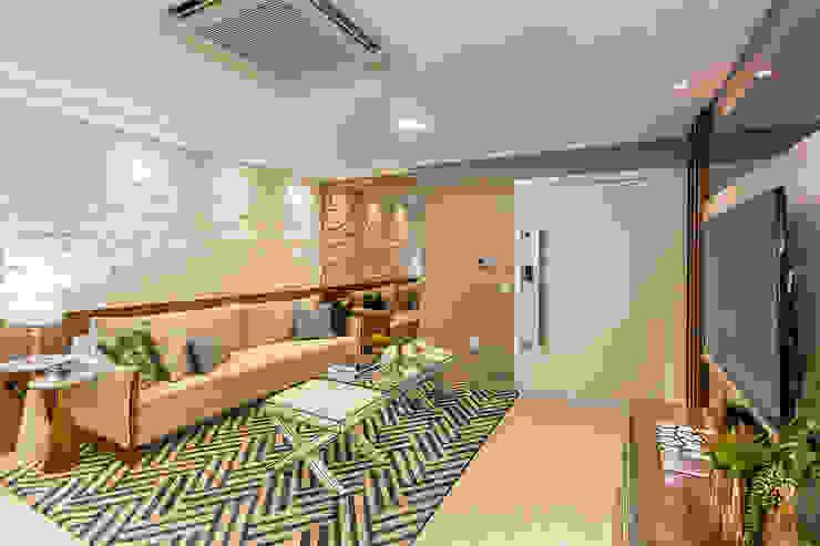 Sala de Estar Salas de estar modernas por Juliana Agner Arquitetura e Interiores Moderno