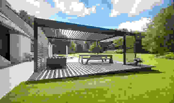 Cole Road Jardines de estilo moderno de IQ Outdoor Living Moderno
