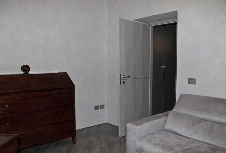 Appartamento in centro storico <q>Lui</q> Soggiorno moderno di Studio di Architettura IATTONI Moderno