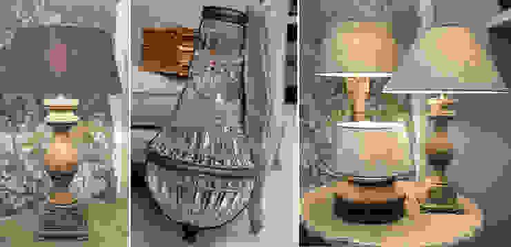 Wir stellen mit Ihnen stilvolle Beleuchtungskonzepte zusammen. Charme de Provence Wohnzimmer im Landhausstil