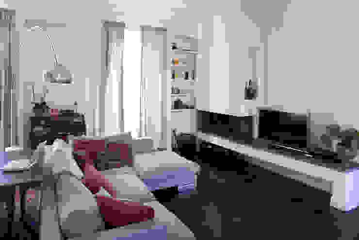 Costa Zanibelli associati Modern Living Room Metal Brown