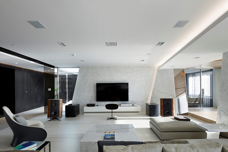 客廳 根據 Nestho studio
