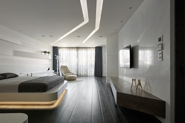 MASTER ROOM Nestho studio Modern style bedroom