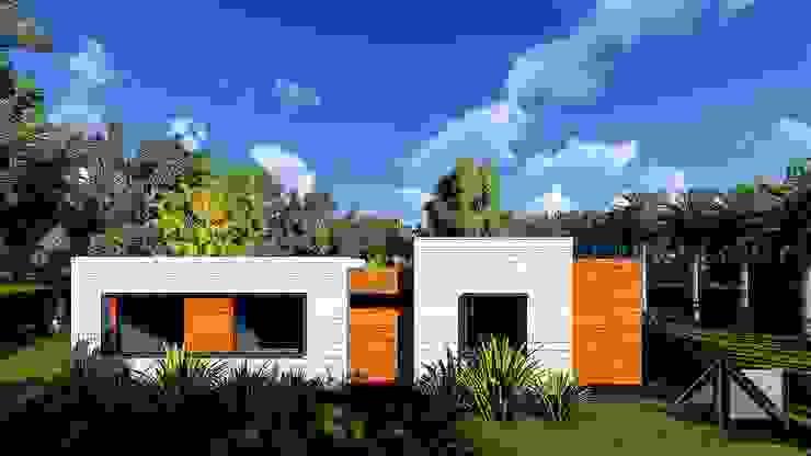 Casa Minimalista Apiay de ARQUITECTOnico