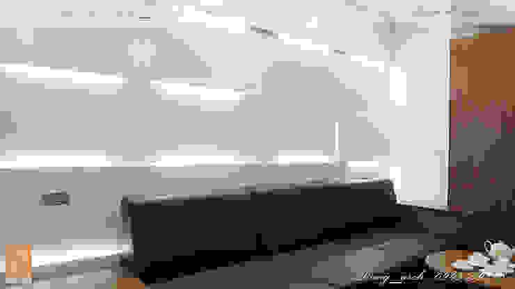 Chung cư vinaconex 16 Tường & sàn phong cách hiện đại bởi DD Home Design Việt Nam Hiện đại