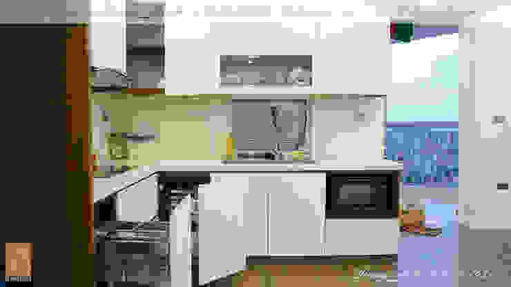 Chung cư vinaconex 16 Nhà bếp phong cách hiện đại bởi DD Home Design Việt Nam Hiện đại