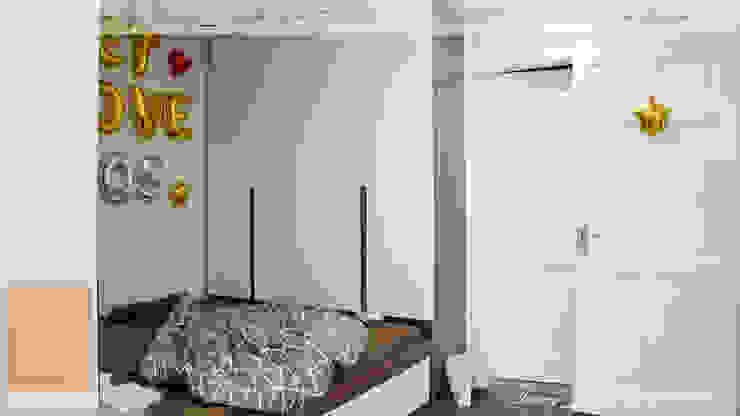 Chung cư vinaconex 16 Phòng ngủ phong cách hiện đại bởi DD Home Design Việt Nam Hiện đại