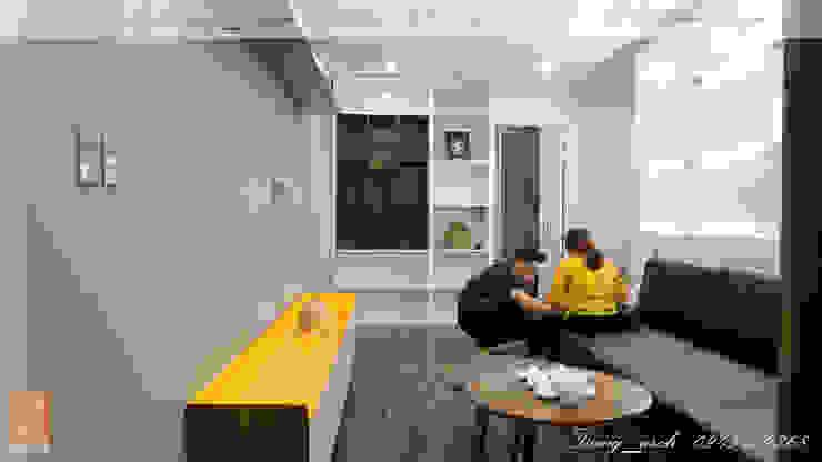 Chung cư vinaconex 16 bởi DD Home Design Việt Nam Hiện đại