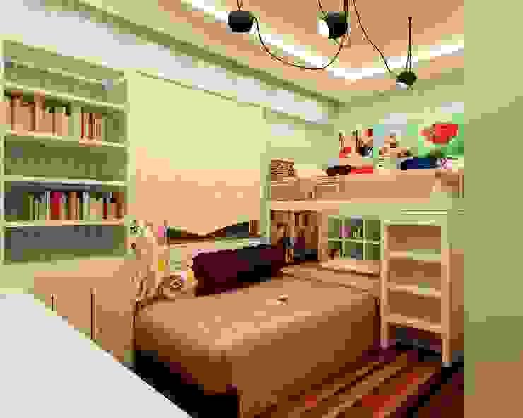 Dormitorios infantiles de estilo moderno de Mozeta Mimarlık Moderno Madera Acabado en madera
