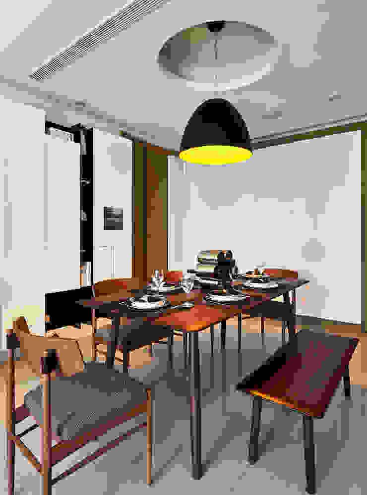 建構 ‧ 線 (住宅設計案 2014) 北歐制作室內設計 餐廳