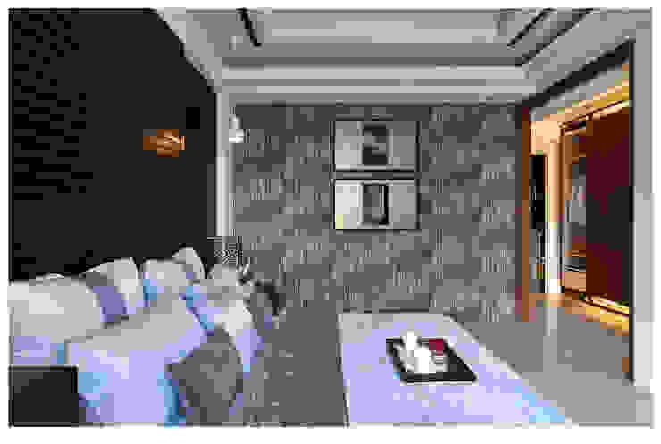 建構 ‧ 線 (住宅設計案 2014) 北歐制作室內設計 臥室