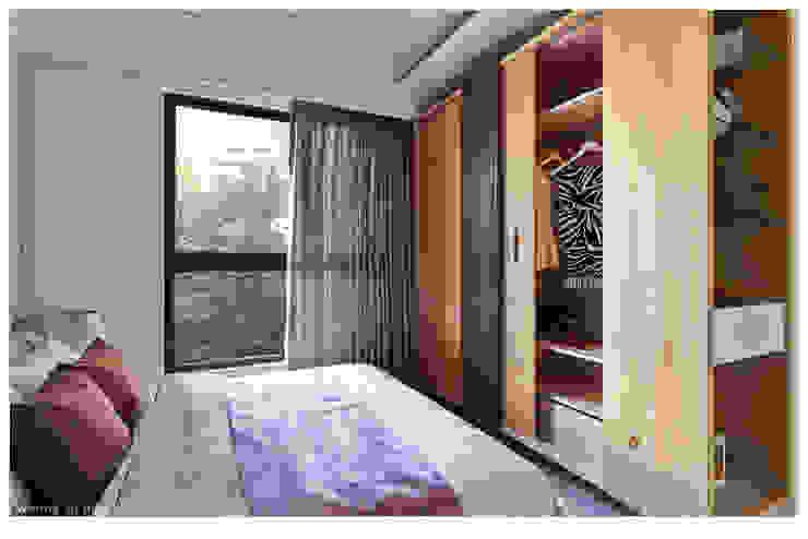 Moderne Schlafzimmer von 北歐制作室內設計 Modern